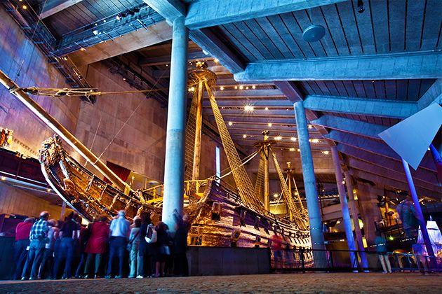 瓦薩戰艦博物館