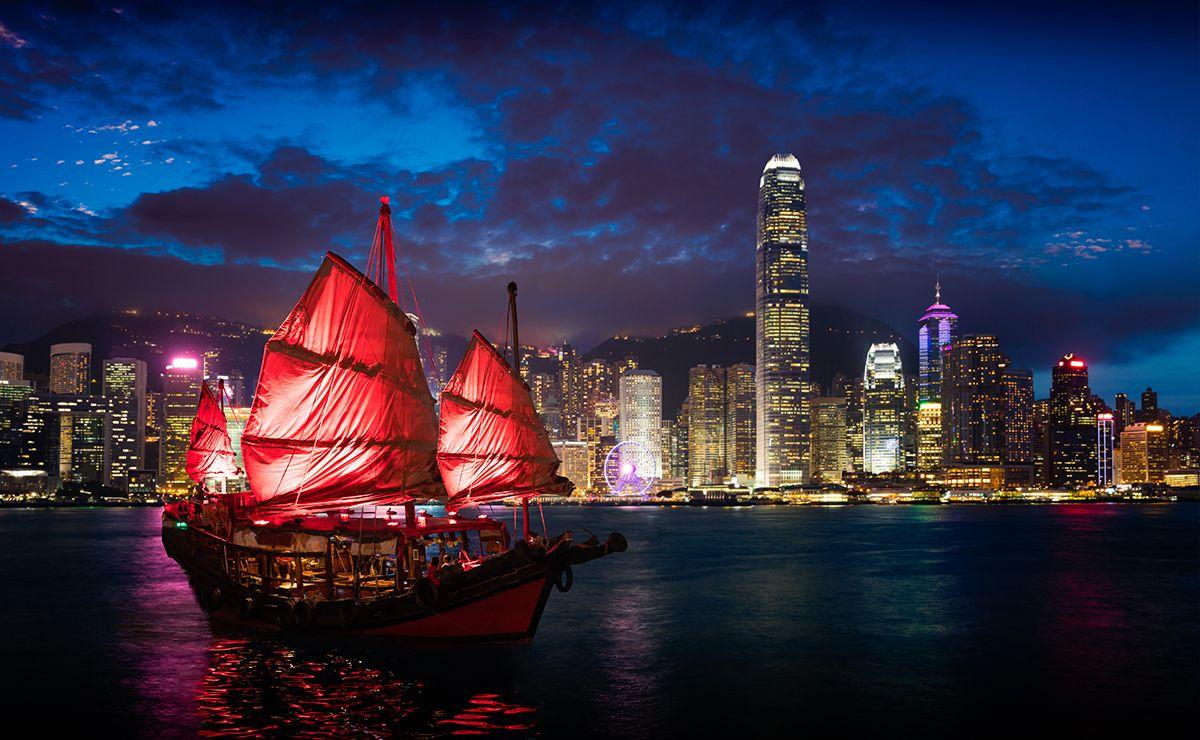 香港-璀璨夜景
