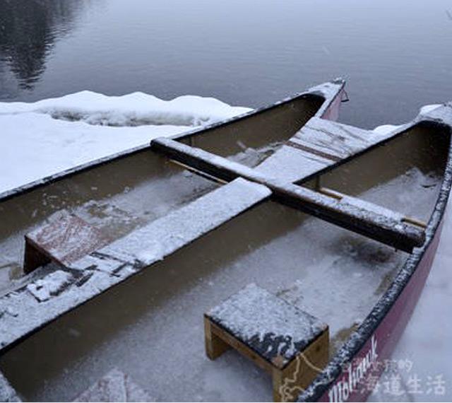 道東屈斜路獨木舟