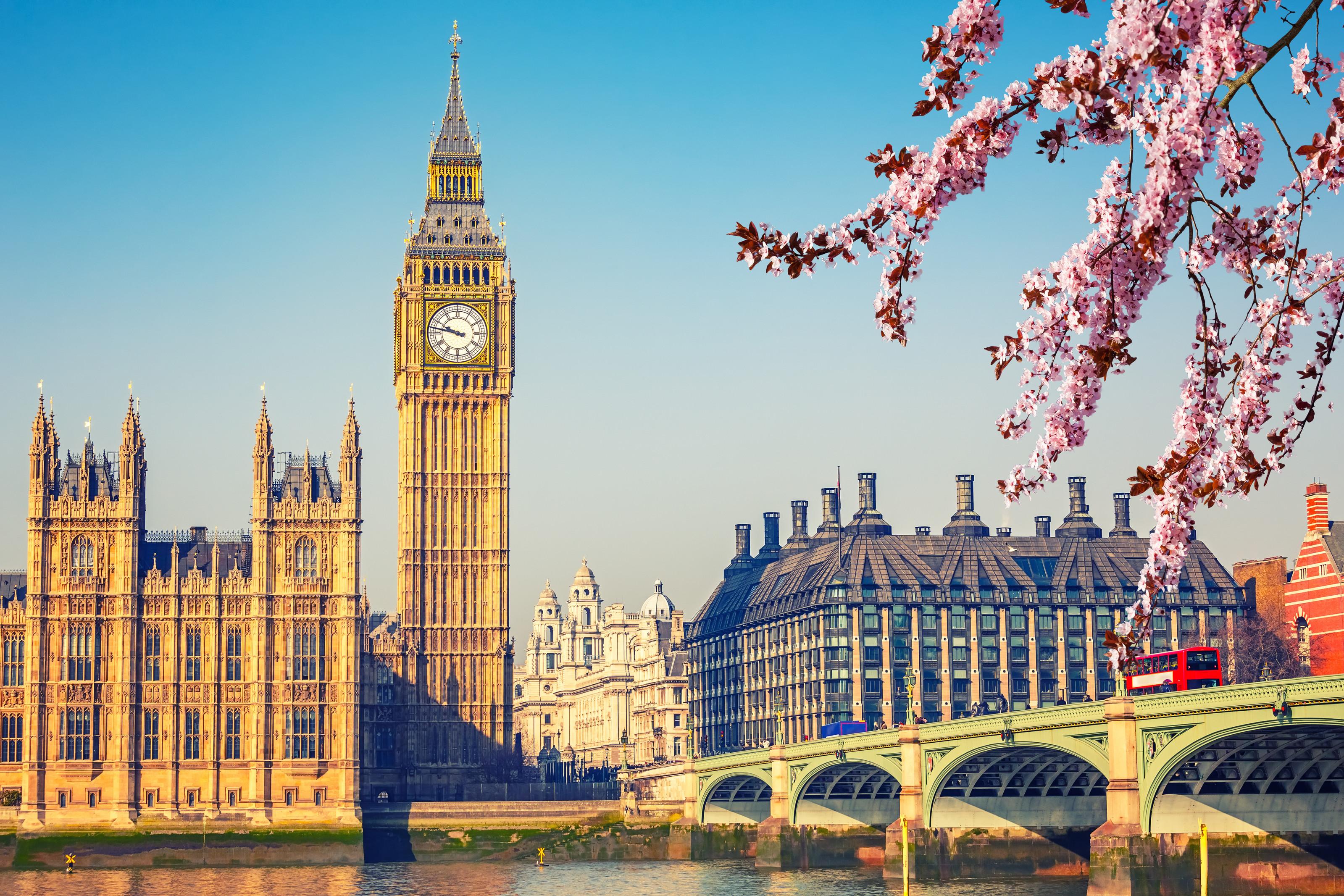 倫敦-魅力日不落