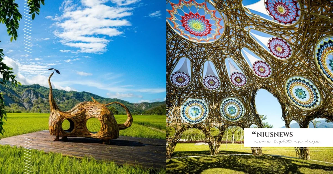 玩咖專欄_2021「縱谷大地藝術季」開幕!6 個地景藝術打卡地標大公開,打造台東池上一日遊